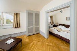Kétágyas pótágyazható vendégszoba