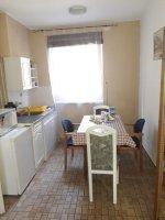 Konyha,étkező-földszinti egy hálószobás apartman