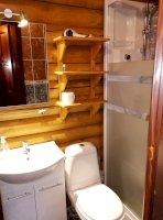 Bagolyvár Rönkház - fürdőszoba