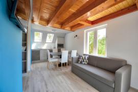 Villa 3 Premium apartman erkéllyel, osztott szintes
