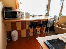 2 fős stúdió-apartman Konyha