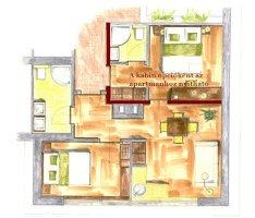 Club Regatta - Apartman alaprajza