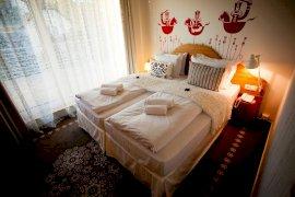 Rusztikus kétágyas szoba
