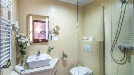 Standard szoba, fürdőszoba