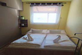 Emeleti egy hálószobás apartman hálószoba