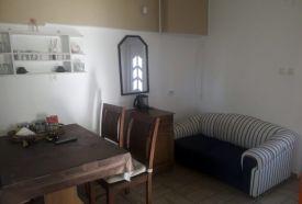 Emeleti két hálószobás apartman étkező