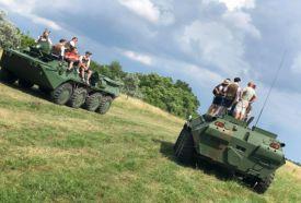 BTR 80 vezetése