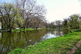 Károlyi-kastély parkja