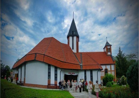 Jézus Szíve-templom, Harkány