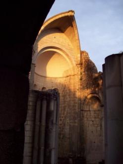 Vértesszentkereszt kolostor és templomrom