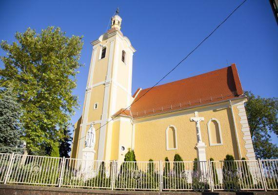 Szent Őrangyalok templom, Szepetnek