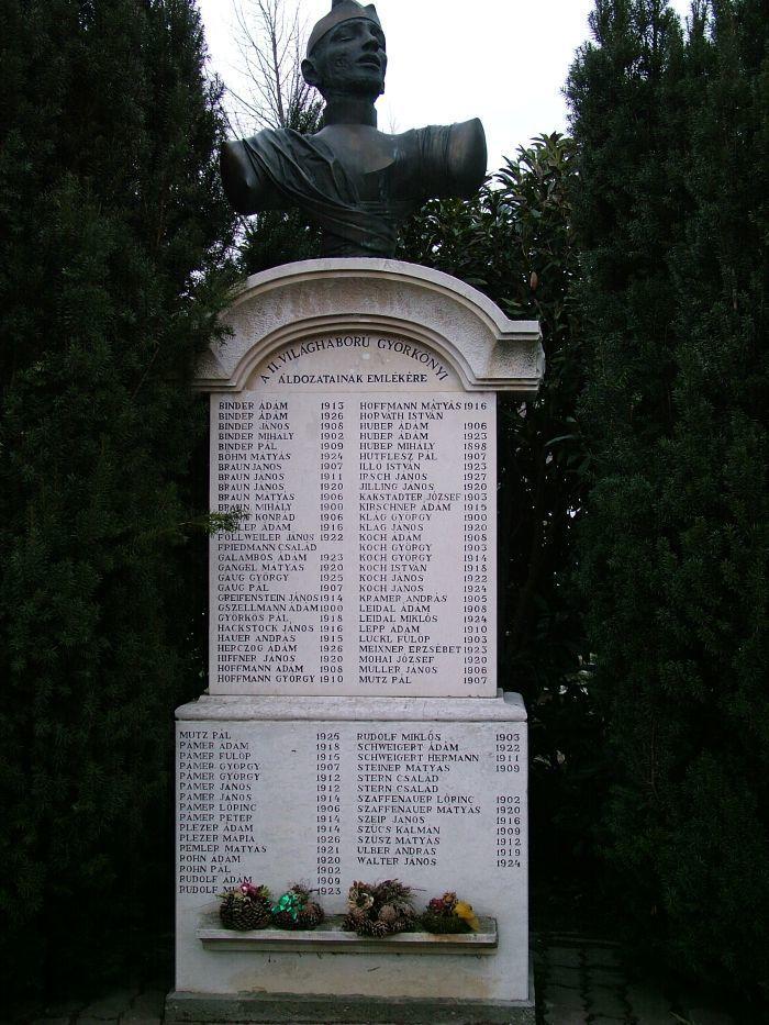 Világháborús emlékmű, Györköny