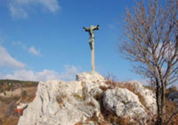 Feszület-Rétfalvi Sándor szobra, Pécs