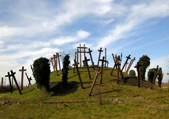 A muhi csata emlékműve, Muhi
