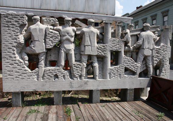 Bányász emlékmű, Tapolca