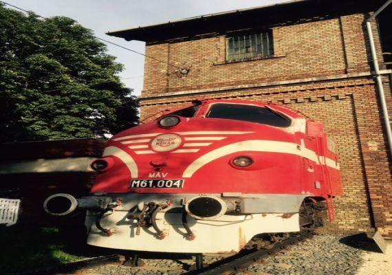 NOHAB M61 004 Mozdonytorzó, Tapolca
