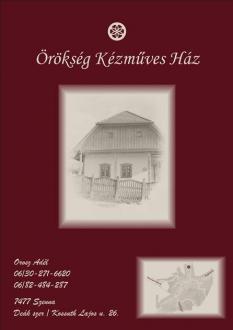 Örökség Kézműves Ház