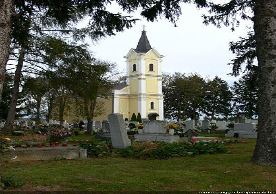 Szent Rókus templom, Sormás