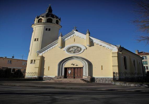 Evangélikus templom, Szolnok