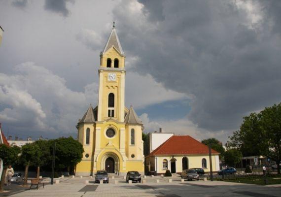 Református templom, Komárom