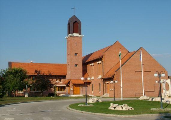 Római katolikus templom, Cserkeszőlő