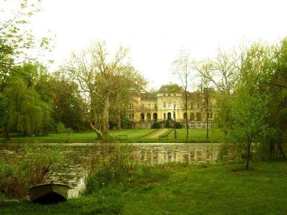 Andrássy-kastély parkja, Tóalmás