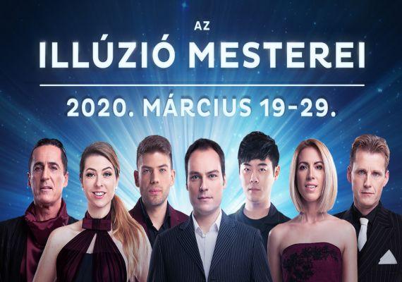 ILLÚZIÓ MESTEREI - 2020, Budapest