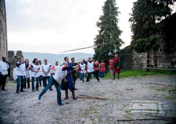 Középkori Csapatépítés - Lovagi hétpróba, Visegrád