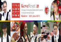 KeveFeszt 21 - Országos Nemzetiségi Kulturális Fesztivál és Gasztronómiai Napok