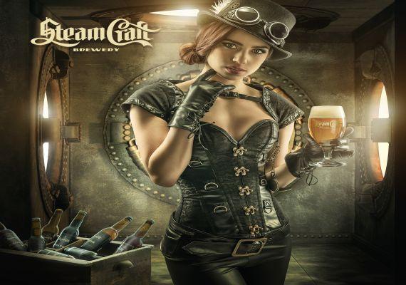 Sörtúra Steam Craft kézműves sörfőzde látogatás, Pécs