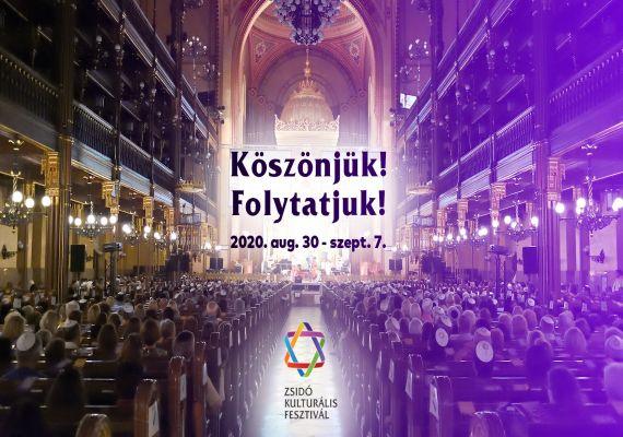 Zsidó Kulturális Fesztivál 2020, Budapest